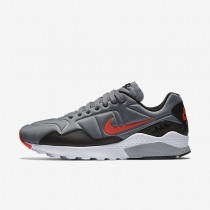 Nike Air Zoom Pegasus 92 Cool Grey/Black/White/Bright Crimson Mens Shoes