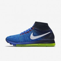 Nike Air Zoom All Out Flyknit Racer Blue/Obsidian/Blue Glow/Blue Glow Mens Running Shoes