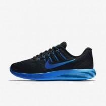 Nike LunarGlide 8 Black/Deep Royal Blue/Hyper Cobalt/Multi-Colour Mens Running Shoes