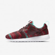 Nike Roshe One Knit Jacquard Night Maroon/Clear Jade/Action Red/Night Maroon Mens Shoes