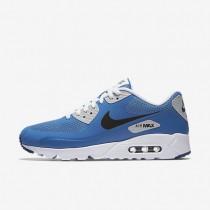 Nike Air Max 90 Ultra Essential Star Blue/Coastal Blue/Pure Platinum/Black Mens Shoes
