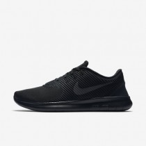 Nike Free RN CMTR Black/Black/Black Mens Running Shoes
