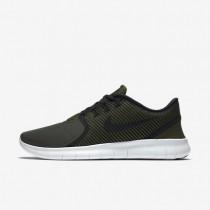 Nike Free RN CMTR Cargo Khaki/Off-White/Black Mens Running Shoes