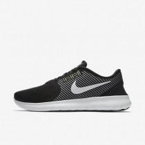 Nike Free RN CMTR Black/Dark Grey/Volt/Off White Mens Running Shoes