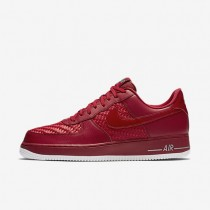 Nike Air Force 1 07 LV8 Gym Red/Summit White/Chrome/Gym Red Mens Shoes