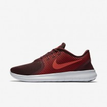 Nike Free RN CMTR Night Maroon/Gym Red/Pure Platinum/Ember Glow Mens Running Shoes