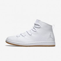 Jordan Galaxy White/White/Gum Light Brown/White Mens Shoes
