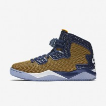 Nike Air Jordan Spike Forty Gold Leaf/Midnight Navy/White Mens Shoes