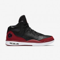 Jordan Flight Tradition Black/White/Gym Red Mens Shoes
