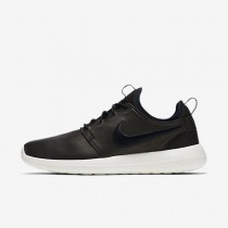 Nike Lab Roshe Two Leather Black/Black/Black/Sail Mens Shoes