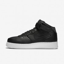 Nike Lab Air Force 1 Mid Black/White/Black Mens Shoes