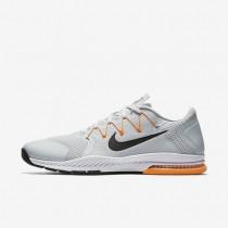 Nike Zoom Train Complete Pure Platinum/Bright Citrus/Cool Grey/Black Mens Training Shoes