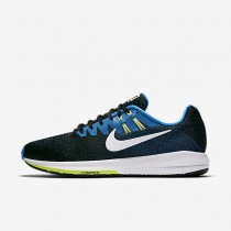 Nike Air Zoom Structure 20 Black/Photo Blue/Ghost Green/White Mens Running Shoes
