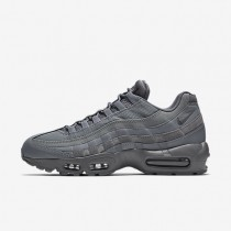 Nike Air Max 95 Essential Cool Grey/Cool Grey/Cool Grey Mens Shoes