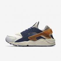 Nike Air Huarache Premium Sail/Midnight Navy/Ale Brown Mens Shoes
