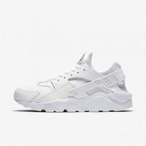 Nike Air Huarache Premium White/Black/White Mens Shoes