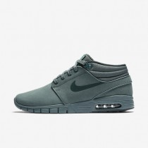 Nike SB Janoski Max Mid Leather Hasta/Green Glow/Seaweed Mens Skateboarding Shoes