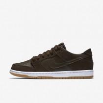 Nike SB Dunk Low Pro Ishod Wair Baroque Brown/White/Gum Medium Brown/Baroque Brown Mens Skateboarding Shoes