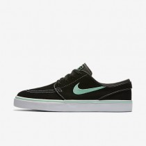 Nike SB Zoom Stefan Janoski Black/Anthracite/White/Green Glow Mens Skateboarding Shoes