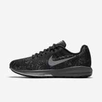 Nike Air Zoom Structure 20 (Rostarr) Black/Dark Grey/White/Reflect Silver Mens Running Shoes
