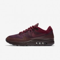 Nike Air Max 1 Ultra Flyknit Grand Purple/Deep Burgundy/Team Red Mens Shoes
