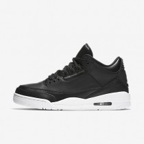 Nike Air Jordan 3 Retro Black/White/Black Mens Shoes
