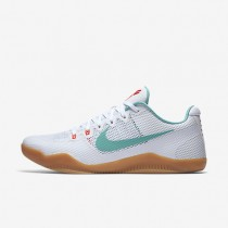 Nike Kobe XI White/Bright Crimson/Black Mens Basketball Shoes