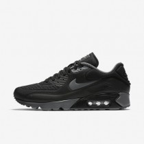 Nike Air Max 90 Ultra SE Black/Black/White/Dark Grey Mens Shoes