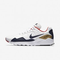 Nike Air Zoom Pegasus 92 White/Metallic Gold/University Red/Midnight Navy Mens Shoes