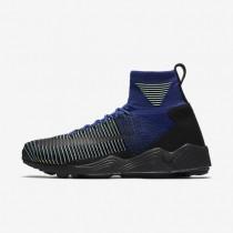 Nike Zoom Mercurial Flyknit Deep Royal Blue/Volt/Black Mens Shoes