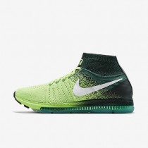 Nike Air Zoom All Out Flyknit Ghost Green/White/Anthracite/Black Mens Running Shoes