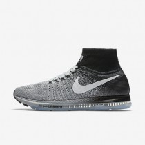 Nike Air Zoom All Out Flyknit Wolf Grey/White/Black/Pure Platinum Mens Running Shoes