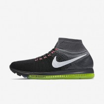Nike Air Zoom All Out Flyknit Black/Cool Grey/Volt/White Mens Running Shoes
