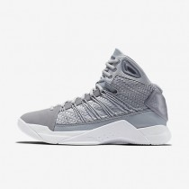 Nike Hyperdunk Lux Wolf Grey/White/Wolf Grey Mens Basketball Shoes