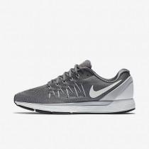Nike Air Zoom Odyssey 2 Dark Grey/Peach Cream/Total Orange/Summit White Mens Running Shoes