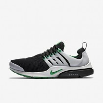 Nike Air Presto Essential Black/Neutral Grey/Pine Green Mens Shoes