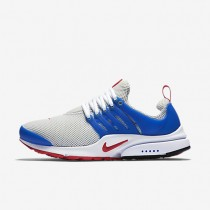 Nike Air Presto Essential Dusty Grey/Hyper Cobalt/White/University Red Mens Shoes