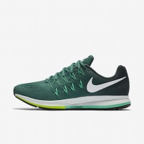 Nike Air Zoom Pegasus 33 Green Stone/Seaweed/Green Glow/White Mens Running Shoes