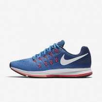 Nike Air Zoom Pegasus 33 Star Blue/Coastal Blue/Bright Mango/White Mens Running Shoes