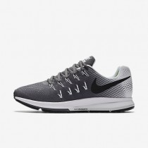 Nike Air Zoom Pegasus 33 Dark Grey/White/Black Mens Running Shoes