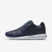 Nike Roshe Tiempo VI Midnight Navy/Pure Platinum/Metallic Gold/Midnight Navy Mens Shoes