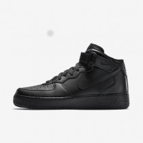 Nike Air Force 1 Mid 07 Black/Black/Black Mens Shoes