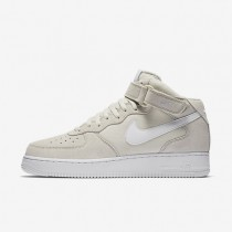 Nike Air Force 1 Mid 07 Light Bone/White Mens Shoes