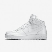 Nike Air Force 1 Mid 07 White/White Mens Shoes
