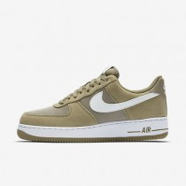 Nike Air Force 1 Khaki/White Mens Shoes