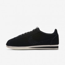 Nike Classic Cortez Leather SE Black/Sail/Black Mens Shoes
