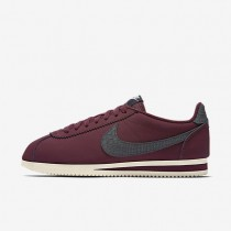 Nike Classic Cortez Leather SE Night Maroon/Sail Mens Shoes