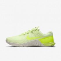 Nike Metcon 2 Barely Volt/Light Bone/Black/Volt Mens Training Shoes