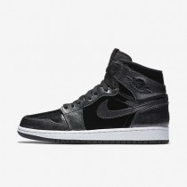 Nike Air Jordan I Retro High Black/White/Black Mens Shoes