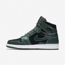 Nike Air Jordan I Retro High Grove Green/White/Black Mens Shoes